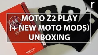 Motorola Moto Z2 Play (+ new Moto Mods) Unboxing & Hands-on Review