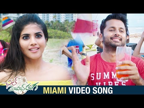 Miami Video Song | Chal Mohan Ranga Movie Songs | Nithiin | Megha Akash | Pawan Kalyan | Thaman S