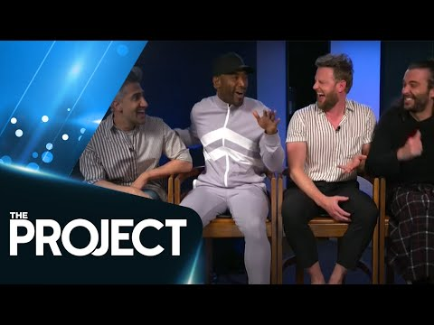 The Cast Of Queer Eye Fall In Love With Kiwi Comedian Justine Smith | The Project NZ