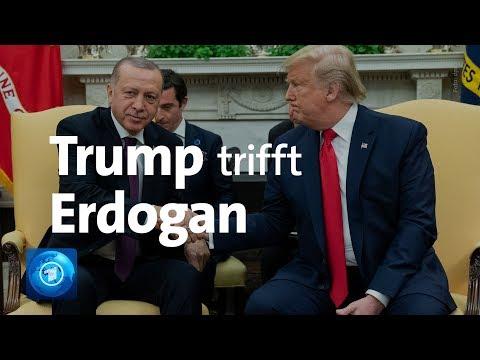 US-Präsident Trump empfängt