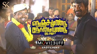 Nenjamundu Nermaiyundu Odu Raja Moviebuff Spotlight Rio Raj Shirin Karthik Venugopalan