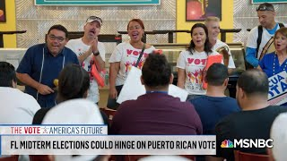 How Could Puerto Rican Voters Affect The Midterms? | Velshi & Ruhle | MSNBC