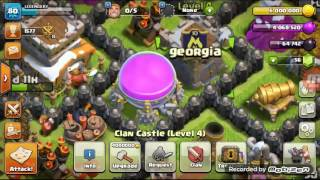 Clash of clans ქართულად th8 chempion