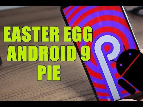 Conheça O EASTER EGG Do Android 9 Pie