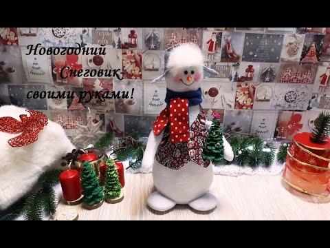 DIY Snowman\Снеговик\Мастер класс.