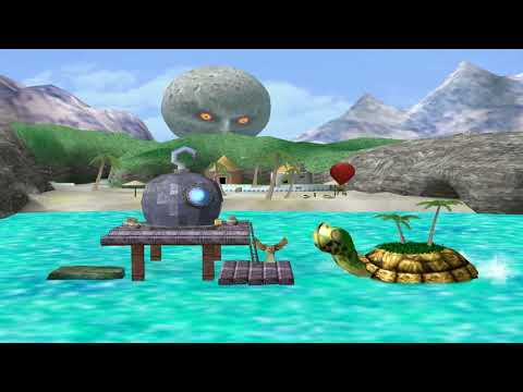 Great Bay (stage) - Super Smash Bros. Melee