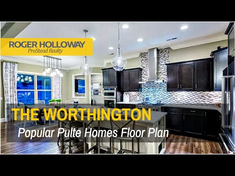 Pulte Homes' WORTHINGTON Plan - Queensbridge, Indian Land SC