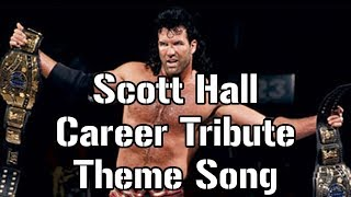Scott Hall tribute theme song [Wolfpac theme with Ready or Not lyrics and nWo quotes]