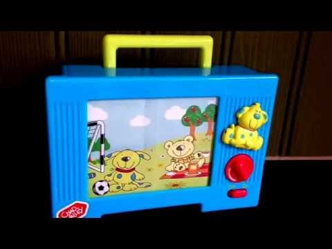 Chad Valley Musical TV Video Television Children's Toy Moving Image & Music Song Theme Tune