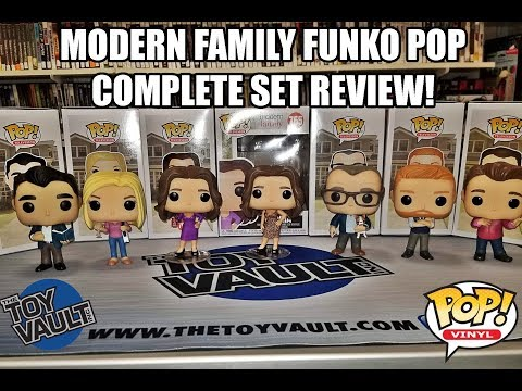 The Toy Vault Presents: Funko Pop Modern Family Complete Set Review with Gloria Chase!