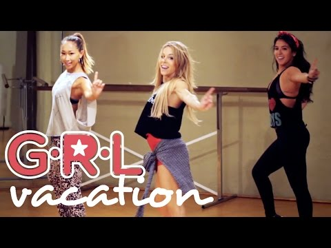 G.R.L. - Vacation (Dance Tutorial)