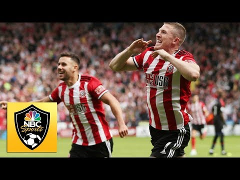 Lundstram Slams In Rebound To For Sheffield Utd Against Crystal Palace   Premier League   NBC Sports