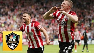 Lundstram Slams In Rebound To For Sheffield Utd Against Crystal Palace | Premier League | Nbc Sports