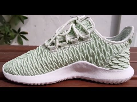 low priced 207d3 9f787 Adidas Tubular Shadow 3D Linen Green