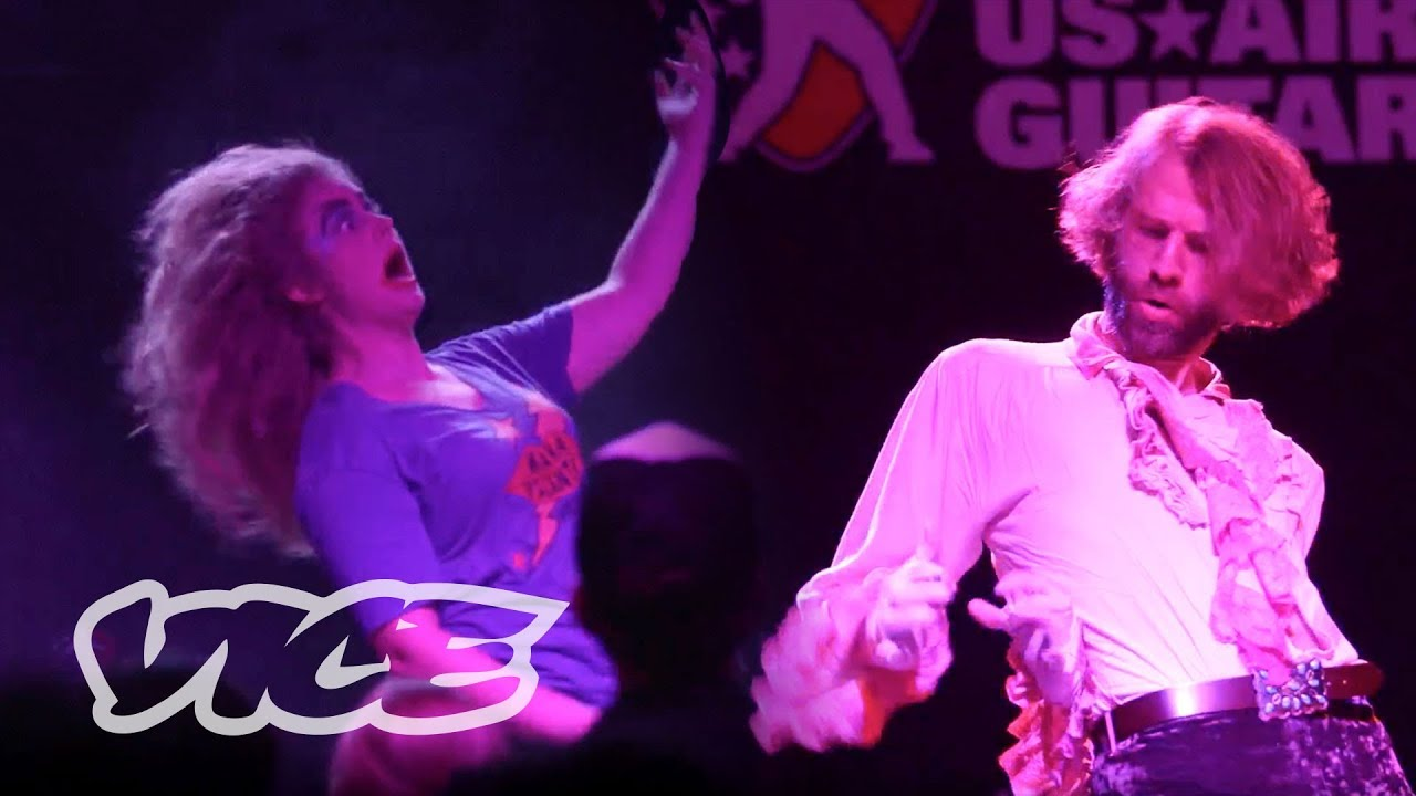 The Battle for the National Air Guitar Championships