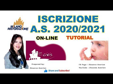 Milano Ristorazione On-line Iscrizione Tutorial