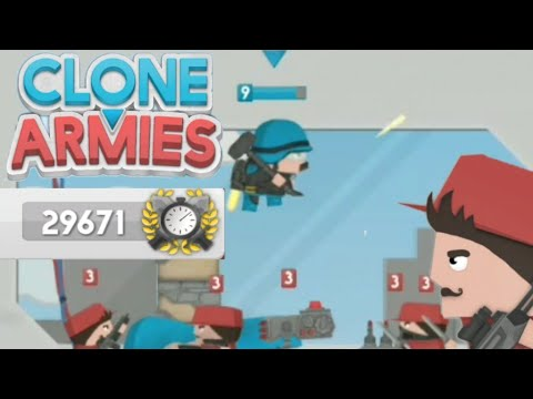 Clone Armies Invasion challange || Clone Armies tips on how to beat it and get top on leaderboard