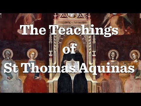 St. Thomas Aquinas (part 2)