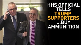 Top Official SLAMS Gov't Scientists; Tells Trump Supporters To Buy Ammunition?