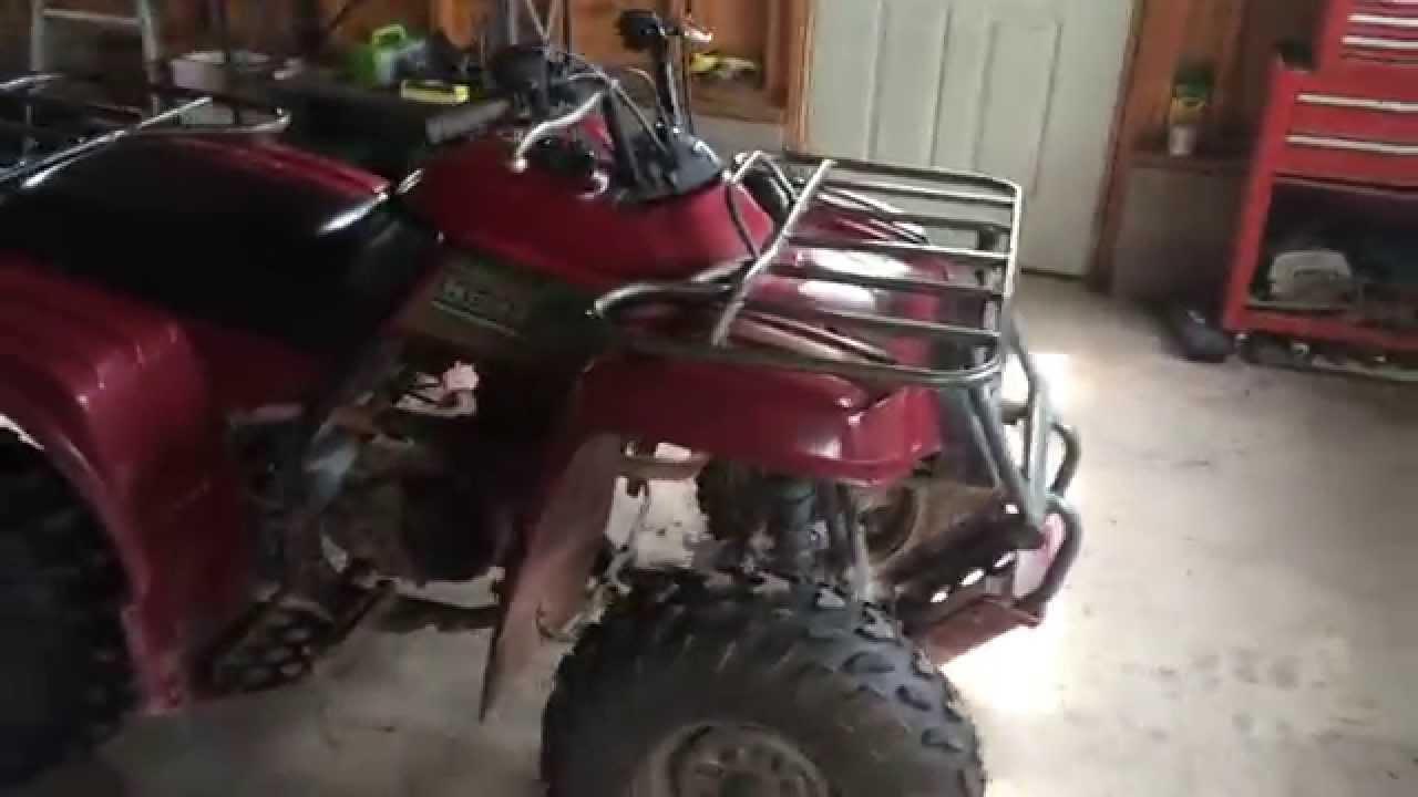 2000 Yamaha Beartracker 250 Walk Around Youtube