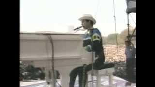 Elton John Goodbye Yellow Brick Road Central Park 1980