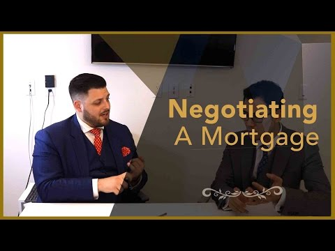 Real Estate Interview - Negotiating A Mortgage - Financial Planner Perspective