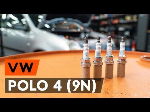 Как заменить свечи зажигания на VW POLO 4 (9N) [ВИДЕОУРОК AUTODOC]