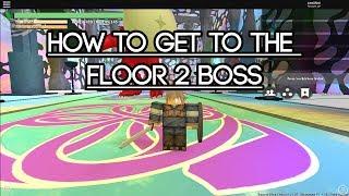 [Roblox Sword Blox Online] How to get to the Floor 2 Boss
