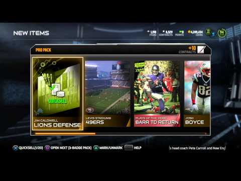 Madden 15 Ultimate Team - 96 OVERALL LAVONTE DAVID! LIMITED EDITION! - MUT 15