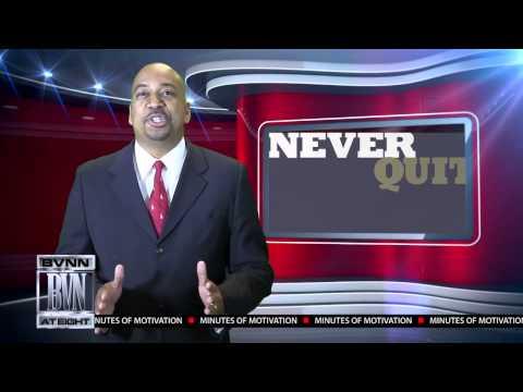 """""""Don't Quit!"""" - Motivational Speaker Dr. Ron Kelley Featuring Allen Iverson"""