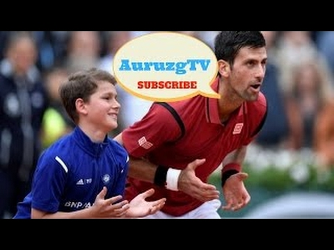HD Funny Moments In Tennis ( Funny Ball Boys Moments,Funny Fails ))