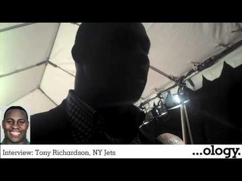 Interview: Tony Richardson, NY Jets