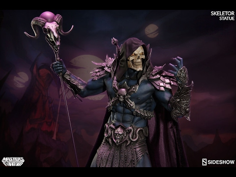 SIDESHOW - SKELETOR - MASTERS OF THE UNIVERSE - STATUE - REVIEW FRANCAISE FRENCH