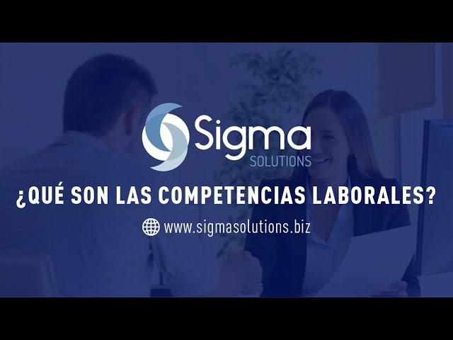 Competencias Laborales - Sigma Solutions