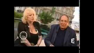 Интервью Мишель Мерсье и Робера Оссейна в Каннах 2010 г. (субтитры)