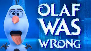 Proof Olaf Was Wrong!