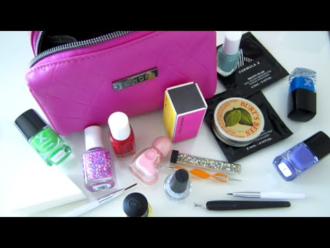's in nail art travel bag