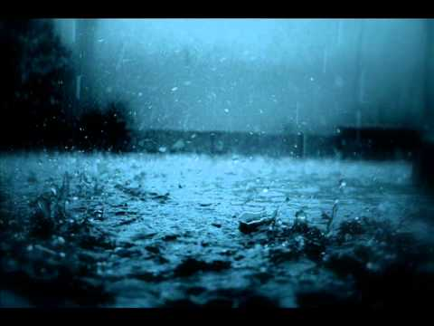 Silent raindrops