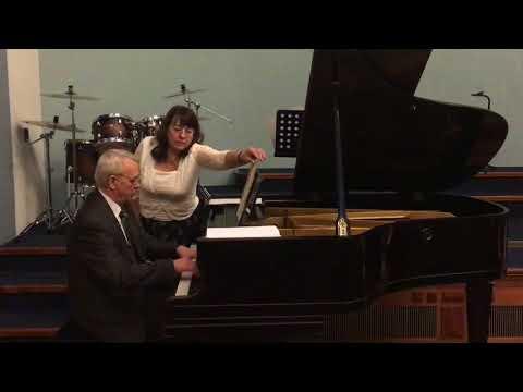 Nikolaj Tkachenko Piano Concert Classical Music Prague 2017, Part 1   Н. Ткаченко Концерт, Часть 1