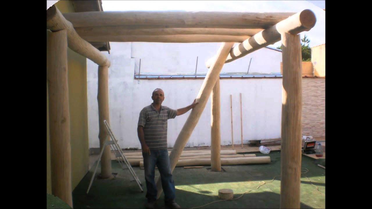gazebo jardim madeira:Julio Facioli – Jardineiro de Batatais – Pergolados – YouTube