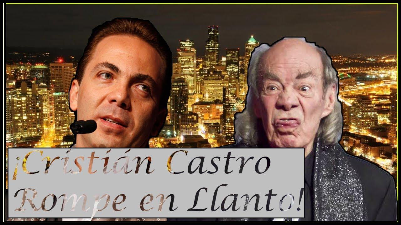 Cristian Castro dá Triste Confesión sobre su padre y Rompe en LLanto