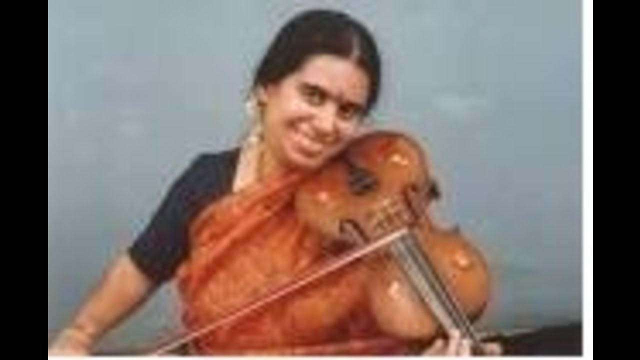 A Kanyakumari- Violin-O_jagadamba_nanu_amba-Anandabhairavi