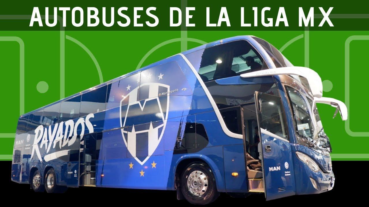 TOP: Autobuses de los equipos del clausura 2019 de la liga MX