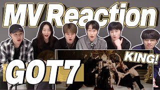 eng) GOT7 - NOT BY THE MOON MV Reaction | Korean Dancers React | J2N VLog