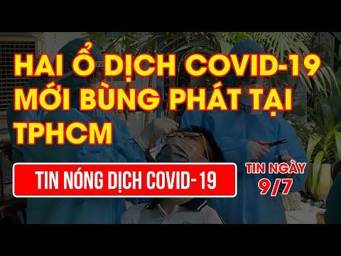 Hai ổ dịch COVID-19 mới bùng phát tại TPHCM