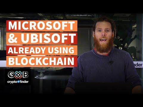 GxB: Microsoft And Ubisoft Already Using Blockchain