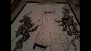 Desenhando 02- Shino Aburame