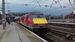Trains and tones at Doncaster part 1/2