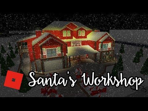 Welcome to Bloxburg: Santa's Workshop | Speed Build