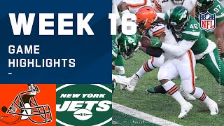 Browns vs. Jets Week 16 Highlights